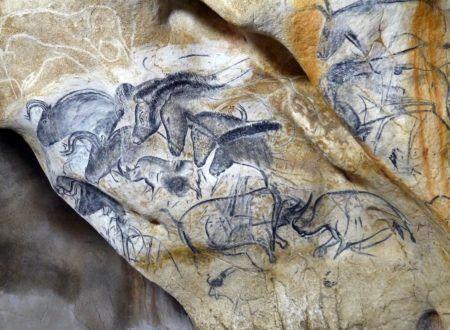 Grotte Chauvet 2 Ardèche - Panneau des chevaux SYCPA